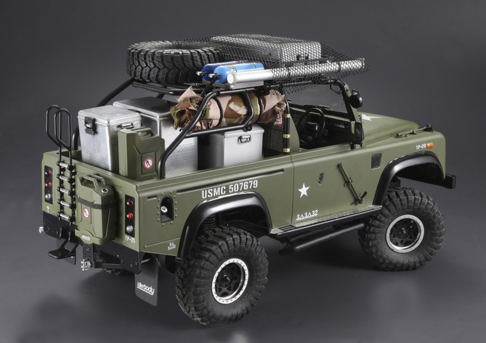 Killerbody RC USA Marauder 1/10 Scale Land Rover Defender Body
