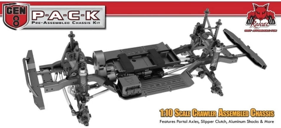 Redcat Racing Gen8 PACK Pre-Assembled Chassis Kit