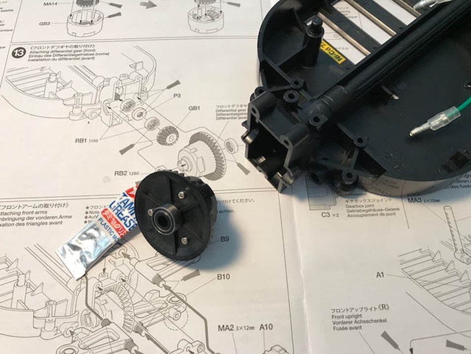 Tamiya Euro Truck Front Diff