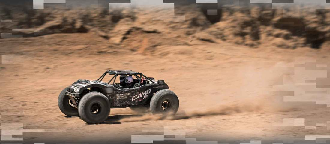 Redcat Racing Camo X4 Rock Racer