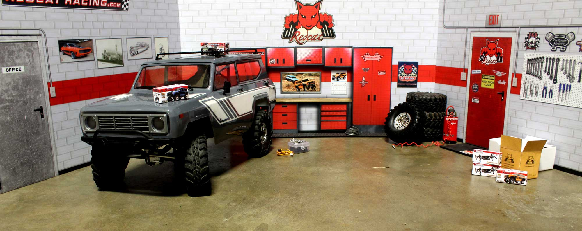 Redcat Racing RC Scale Garage Accessories